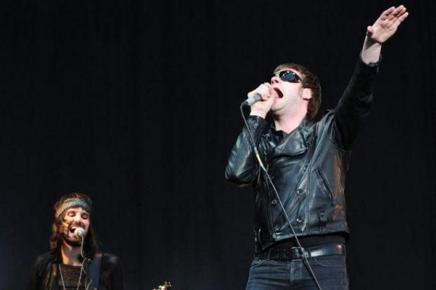 Kasabian's Serge Pizzorno, left, and Tom Meighan
