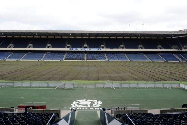 Murrayfield is the venue for Celtic's Champions League second-round qualifying tie against KR Reykjavik, but coach Ronny Deila is not fazed by the prospect