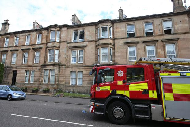 Families evacuated from their homes after Pollokshields tenement blaze