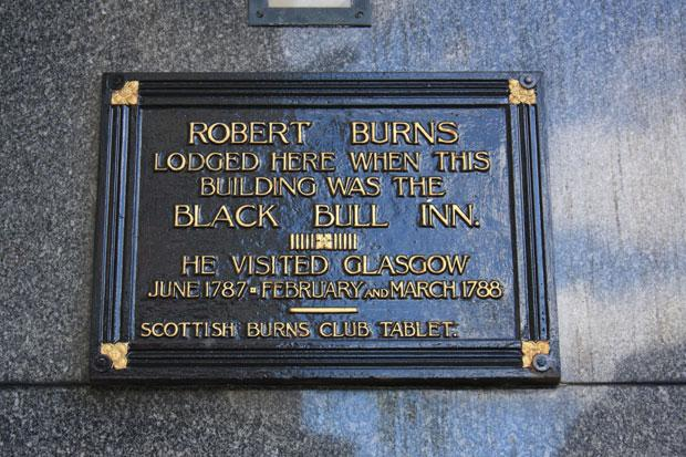 Eye Spy Glasgow: What is the Glasgow connection for Robert Burns and his affair with the busty young beauty?