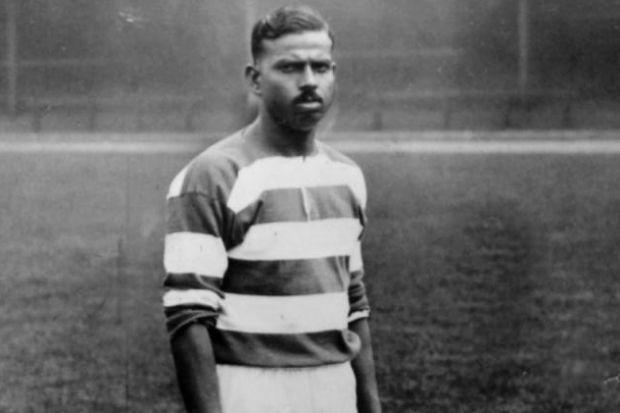 'Indian juggler' was a Celtic star