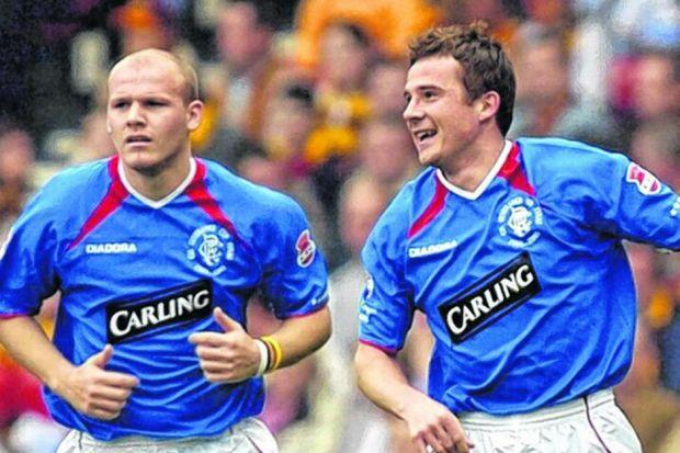 League Two is a long way from height of success Bob Malcolm and Barry Ferguson enjoyed at Rangers