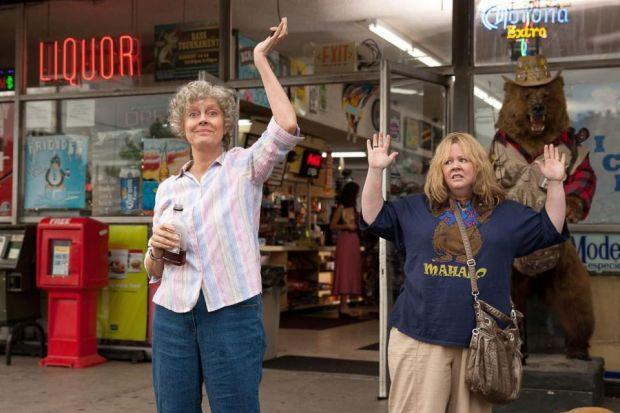 Susan Sarandon and Melissa McCarthy as unlikely travelling companions in Tammy