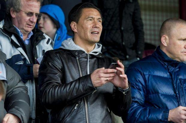 Former Rangers striker Michael Mols is right behind Sons of Struth