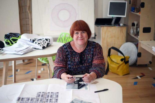 Author Louise Welsh will be taking centre stage at the Briggait. Picture: Colin Templeton