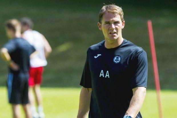 Alan Archibald is fine-tuning squad for new season