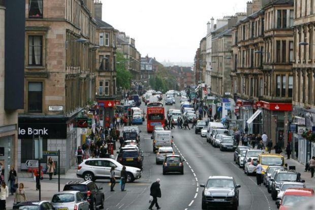 Pedestrianising some or all of Byres Road is one of the report's recommendations
