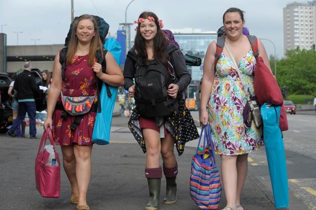 Music fans head for T in the Park