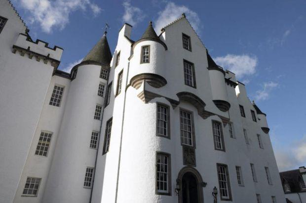 Blair Castle provides a spectacular setting for the caravan park which offers five-star accommodation