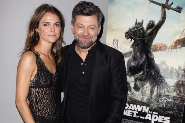Andy Serkis and Keri Russell at the film's New York screening