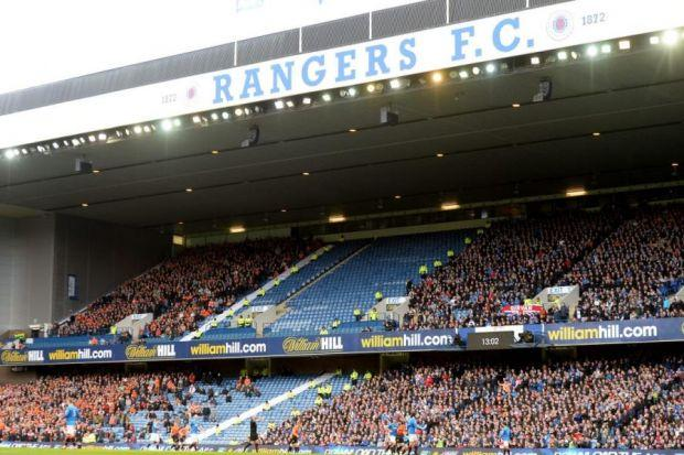 Fitting tribute...the Govan Stand will be named in Sandy Jardine's memory before the game with Hearts
