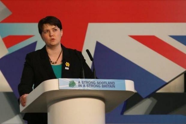 Ruth Davidson is backing the Better Together campaign