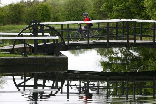 The towpath canals have been given an upgrade