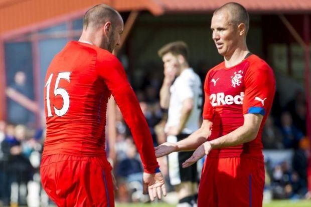 Kris Boyd and Kenny Miller will be first-choice strikers for Ally McCoist
