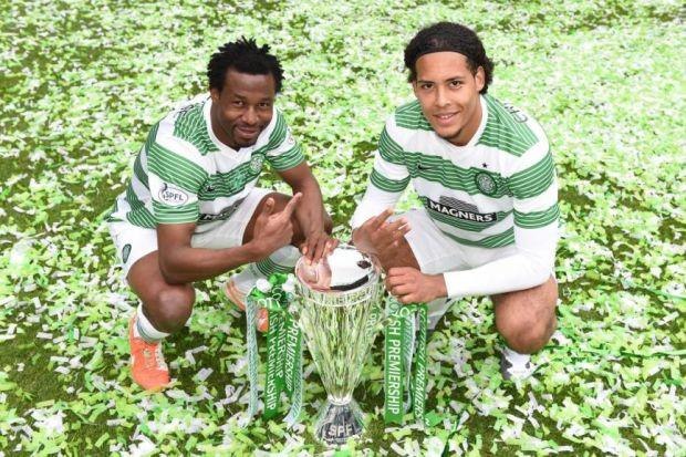 The futures of Efe Ambrose and Virgil van Dijk are linked at Celtic