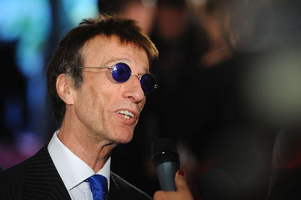 Bee Gees star Robin Gibb's last track - recorded on an iPad - to be released