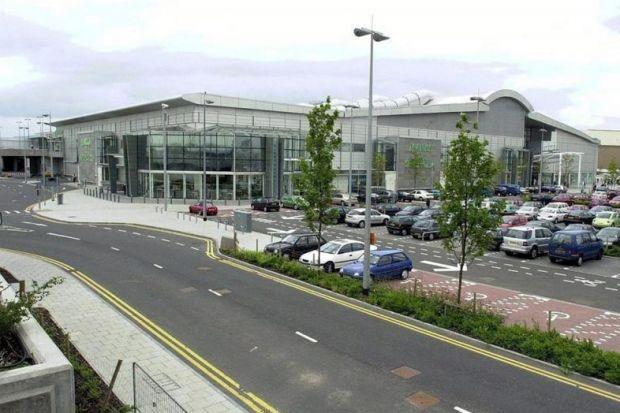 Classification of Braehead is different to other shopping centres