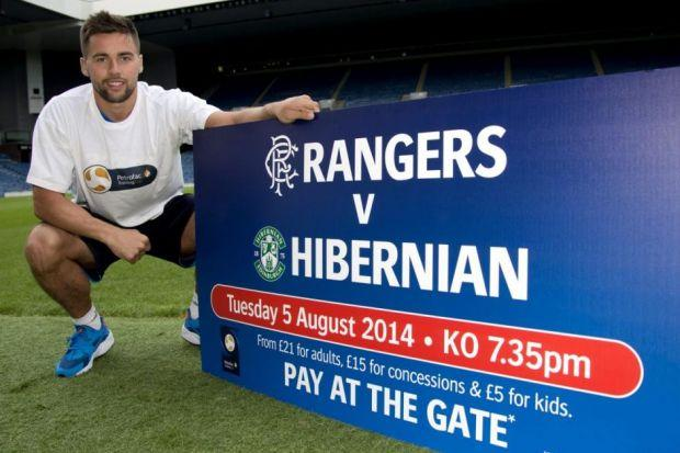Rangers' Darren McGregor is hoping to get a good result tonight against Hibernian, the team he supported as a boy