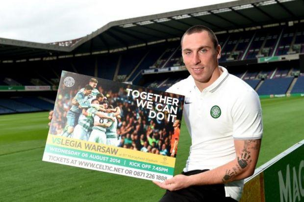 Murrayfield of dreams...Scott Brown is adamant Celtic can mount a Euro comeback to keep their Group Stage dreams alive