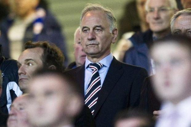 Charles Green 'not welcome' at Rangers