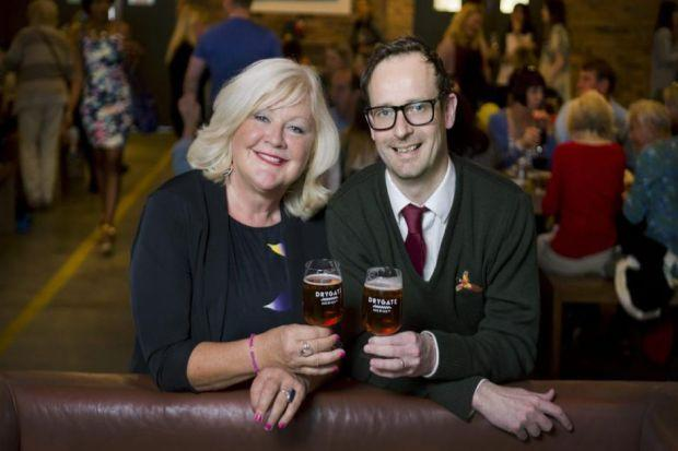 Karen Koren, of The Guided Balloon, and Darren Blackburn, of The Vintage at Drygate, are joining forces t