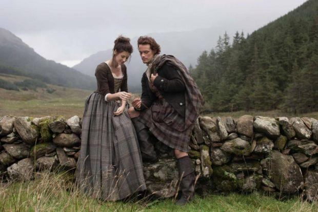 Outlander, which stars former River City actor Sam Heughan, is tipped to become a huge hit after making its debut in the US