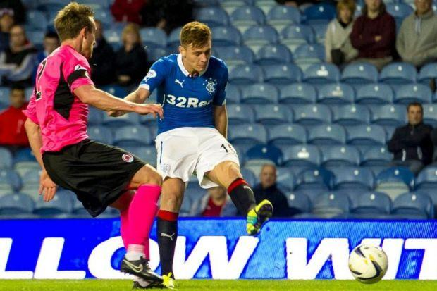 Lewis Macleod has impressed for Rangers this season