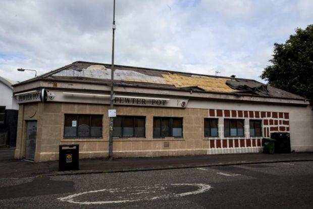The Pewter Pot pub site in North Woodside Road in Glasgow's West End has been the subject of controversy for several years