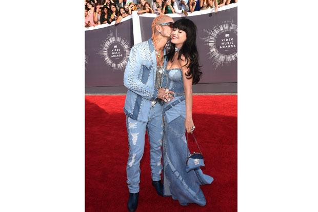 Katy Perry and Riff Raff