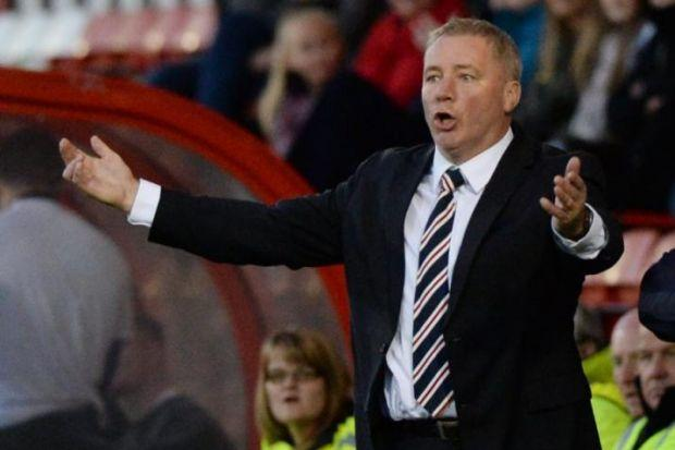 Ally McCoist wants to see more from his men
