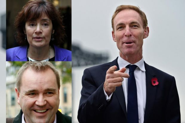 Sarah Boyack, Neil Findlay and Jim Murphy are standing for role