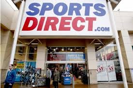 Sports Direct store. Generic image.