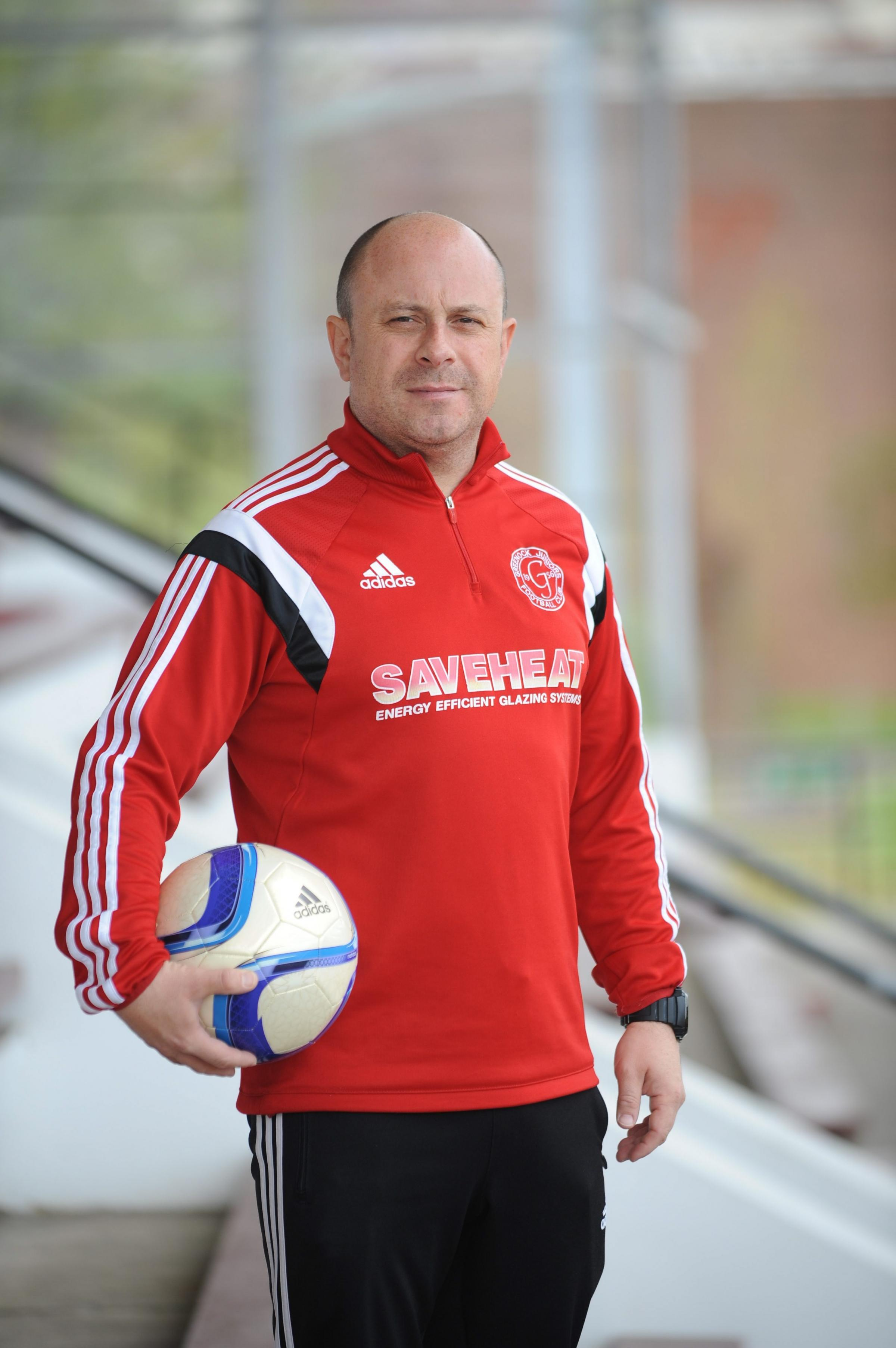 Greenock Juniors boss Martin Campbell has been nearly 25 years in the game as a player and coach