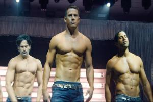Butlers in the buff to greet Glasgow cinema goers at Magic Mike XXL screening