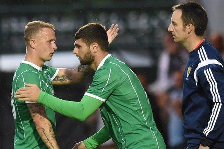 Nadir Ciftci replaced Leigh Griffiths and could have played himself into the starting line-up against Stjarnan next Wednesday