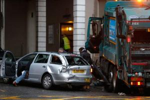 Glasgow bin lorry crash driver told doctor he felt dizzy in 1976 - 38 years before he passed out behind wheel of lorry