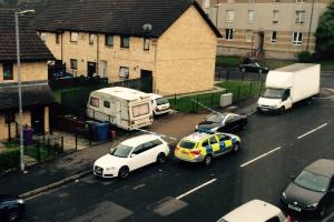 Teenager rushed to hospital after air rifle incident in Govanhill