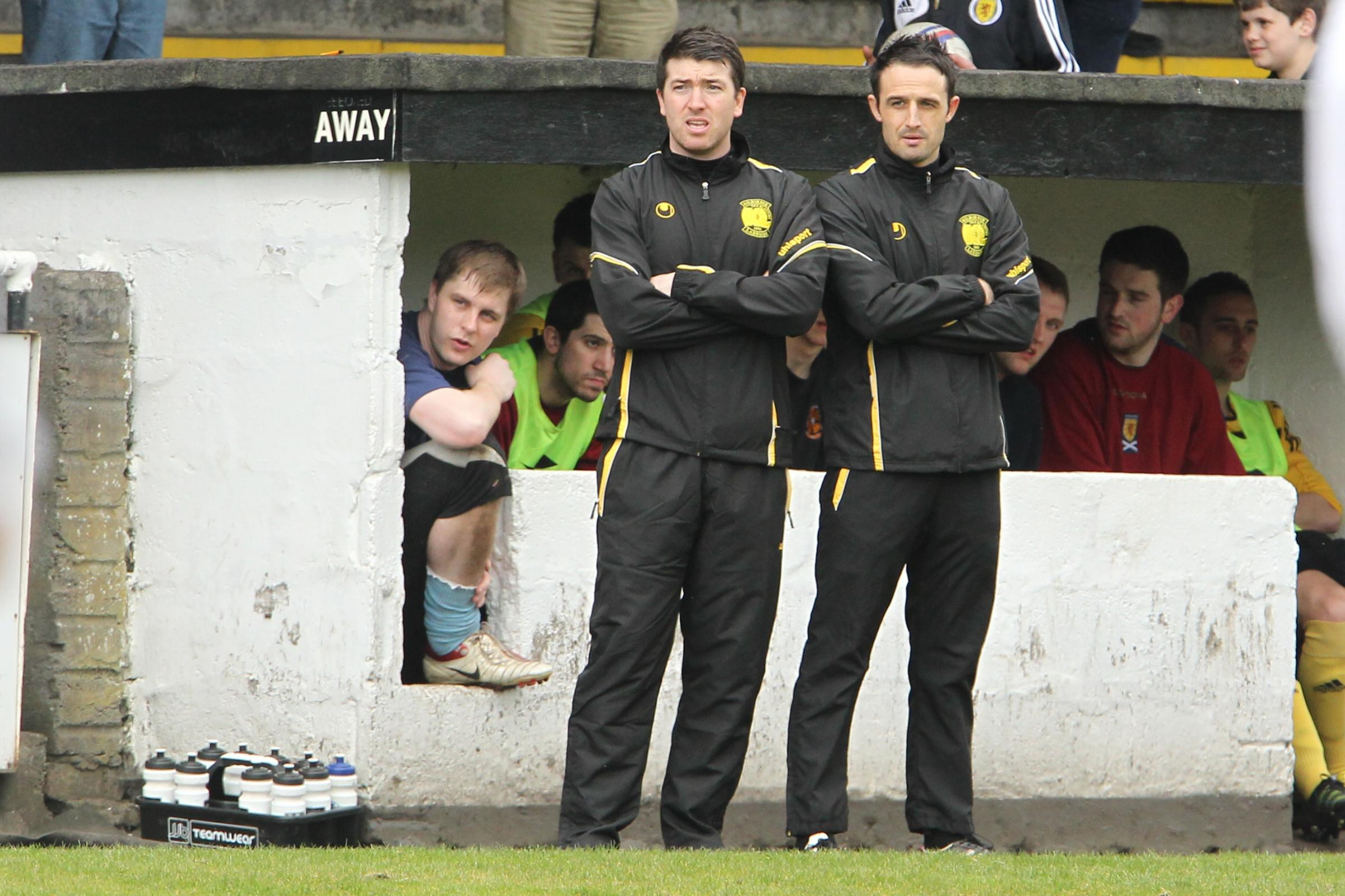 Steven Swift is sweating on the fitness of a number of players ahead of his return to Pollok. Picture: Stewart Attwood