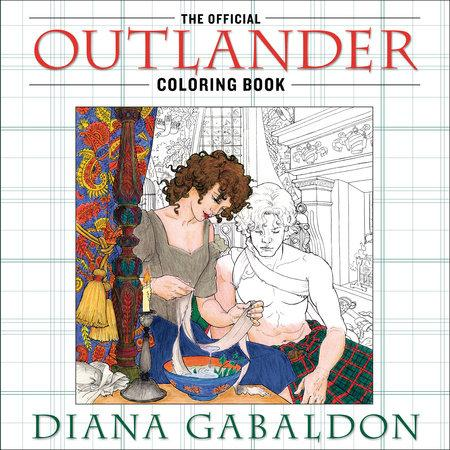 The Outlander colouring book has arrived and fans have spotted a ...