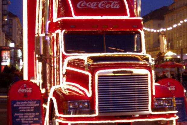 Calls to ban Coca-Cola Christmas truck to combat child obesity