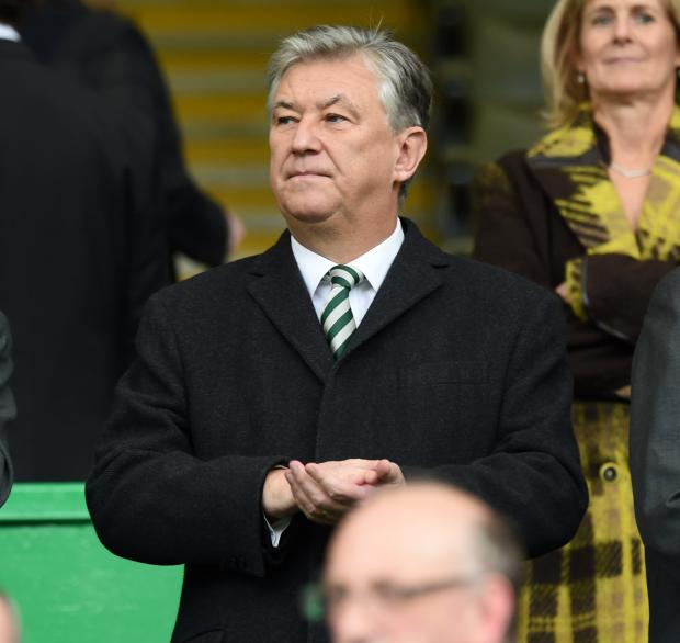 Evening Times: Celtic chief executive Peter Lawwell faced questions today at the club's AGM. Picture: SNS