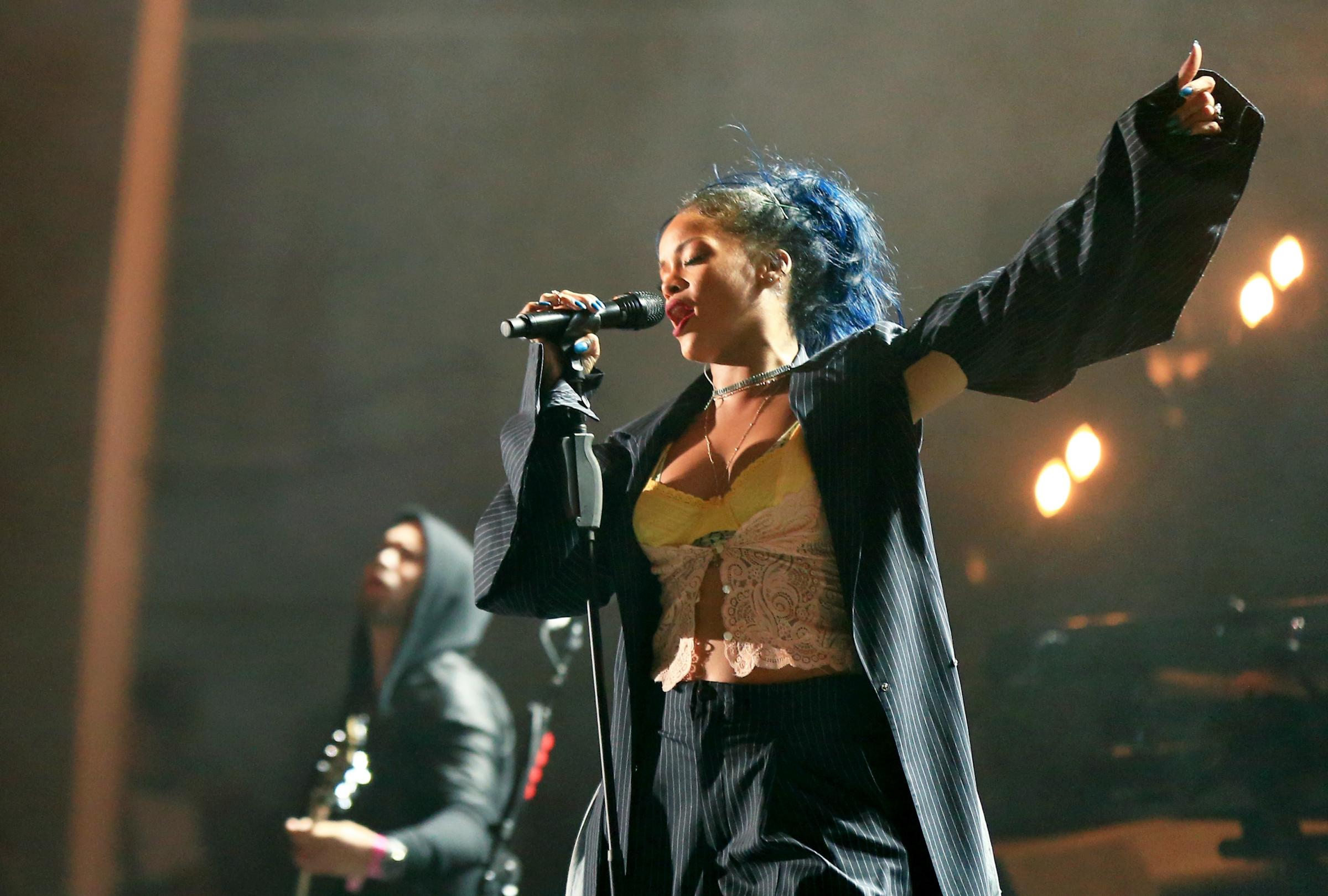 Rihanna announces Hampden Park tour date with support from The Weeknd and Big Sean