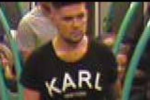 CCTV image released by police after woman 'verbally abused' at train station