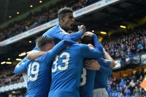 Rangers 4-0 St Mirren: Mark Warburton's side book their place in the Petrofac final with Ibrox win