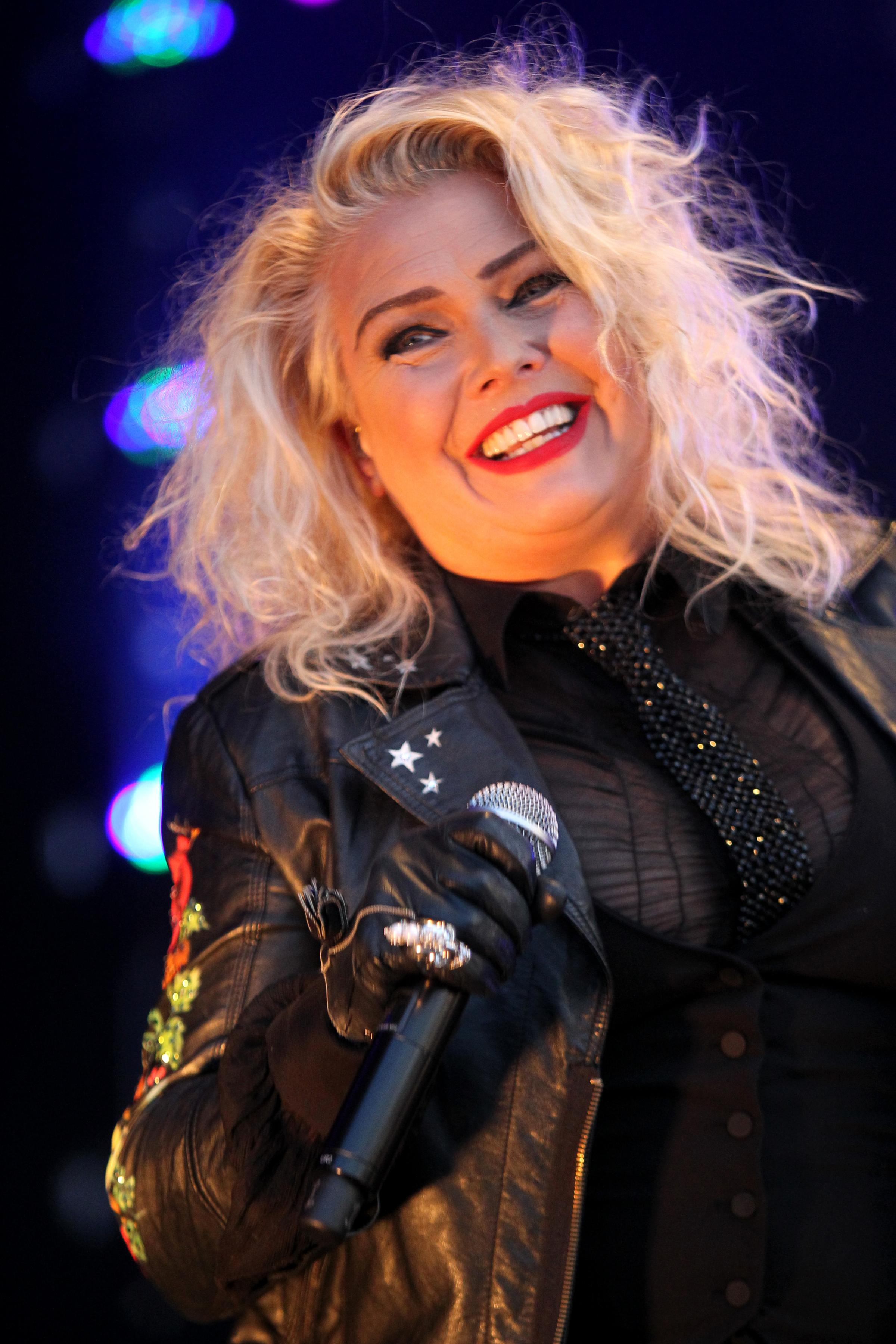"Kim Wilde: ""Christmas for me is very much about heart and about hope and about love. But I wouldn't want a Christmas without a mince pie."""