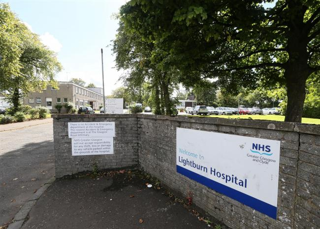 GV of  Lightburn hospital, Carntyne    Photograph by Colin Mearns16 September 2015 (52324841)