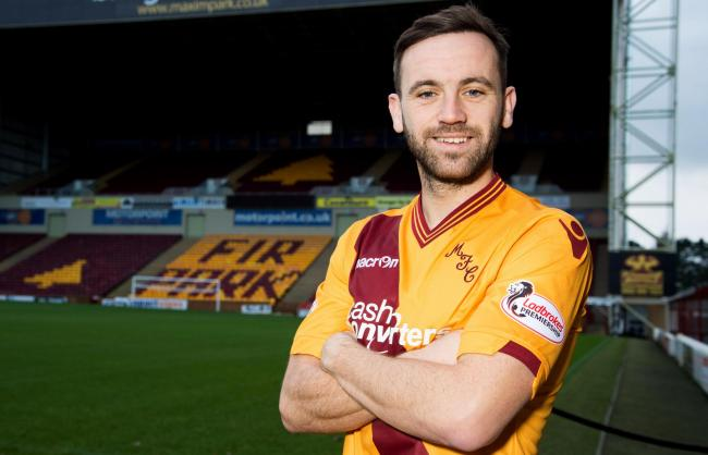 24/12/15   .  FIR PARK - MOTHERWELL .  Motherwell's James McFadden previews his side's forthcoming fixture against Dundee United.. (50664059)
