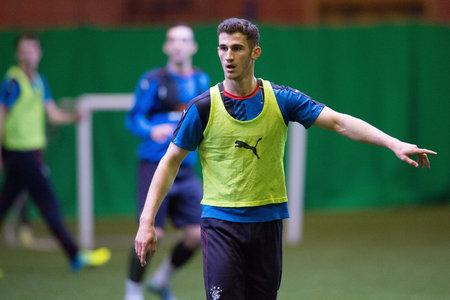 Evening Times: Rangers defender Dominic Ball