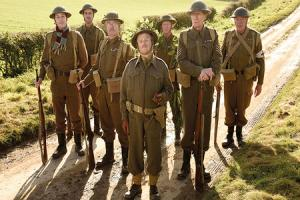 On the march with Dad's Army