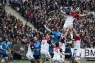 Six nations rugby: France 23 Italy 21